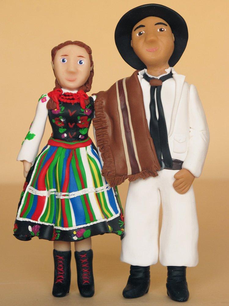 Łowiczanka i gaucho